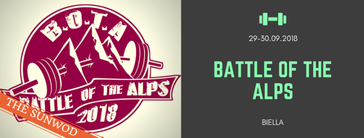 Battle of the Alps - CrossFit competition in Biella Italy - Laguna CrossFit | The SunWod - viaggi e alloggi