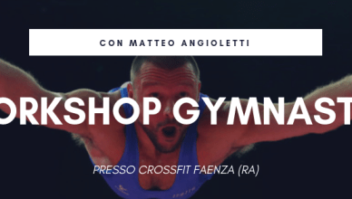 Workshop CrossFit Gymnastic presso CrossFit Faenza | The SunWod