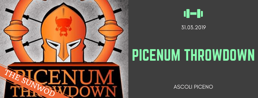 Picenum Throwdown 2019