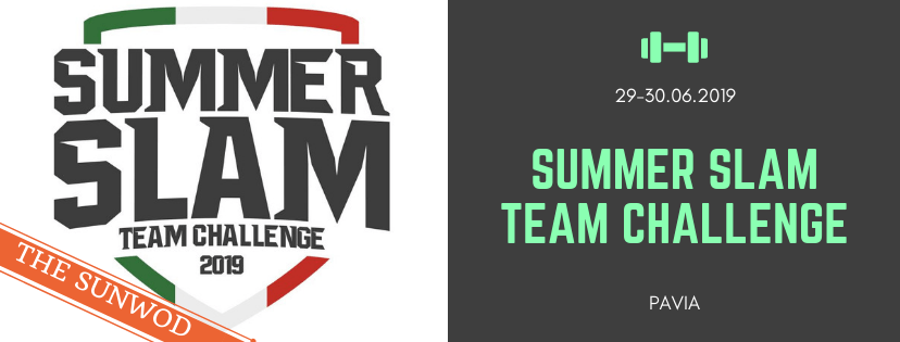 Summer Slam Team Challenge 2019