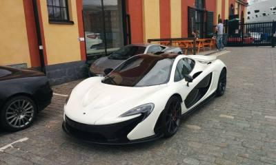 McLaren P1 in Sweden