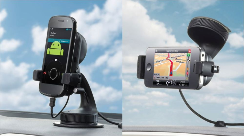 TomTom-In-Car Phone Mounts