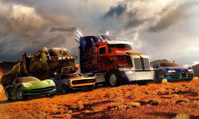 Transformers 4-Age Of Extinction Cars