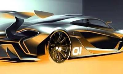McLaren P1 GTR rendering