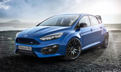 2015 Ford Focus RS rendering