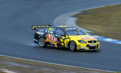 V8 Supercar drifting