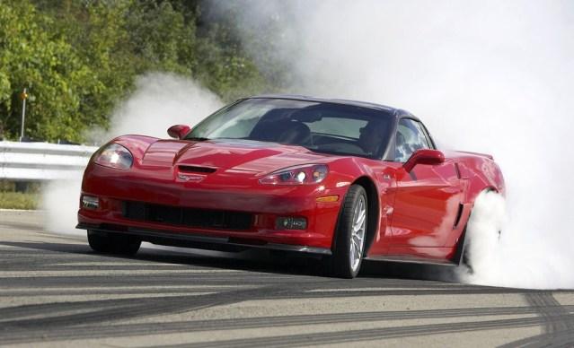 Chevrolet Corvette ZR1 burnout