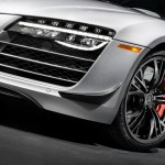 Audi R8 Competition LED headlights