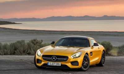 Mercedes-AMG GT front angle image