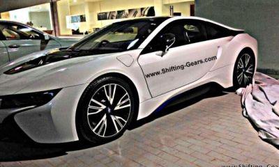 BMW i8 hybrid spotted in Mumbai