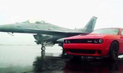 Hellcat vs F16