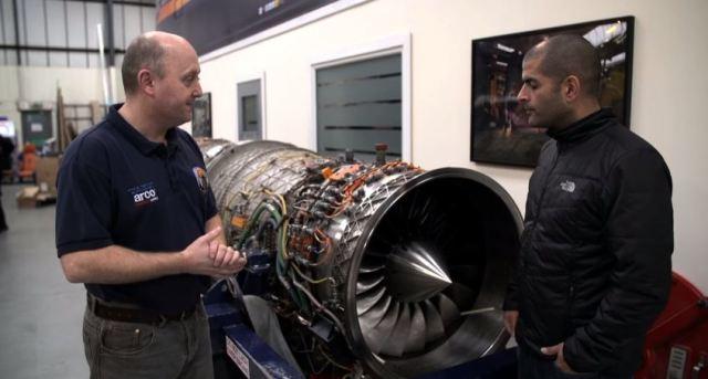 Bloodhound SSC jet engine