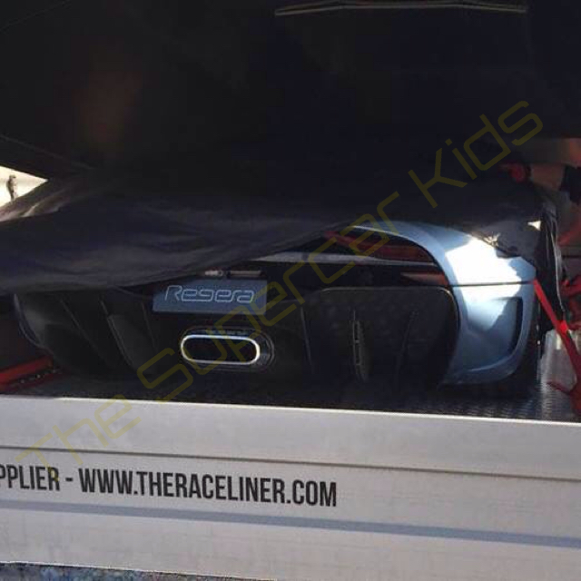 Koenigsegg Regera Spy shots