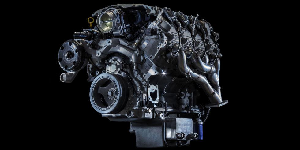 Chevy Camaro V8 engine