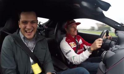 Kimi Raikkonen can smile