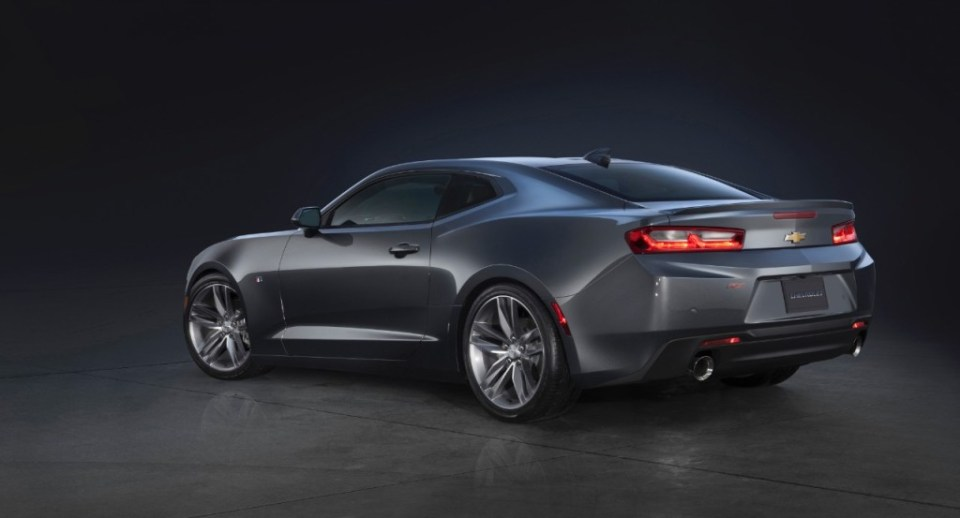 2016 Chevrolet Camaro RS launch 4