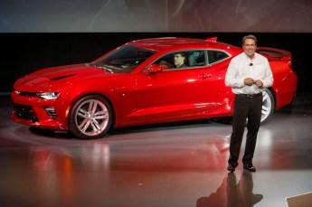 2016 Chevrolet Camaro launch 1
