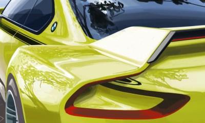 BMW 30 CSL Hommage concept 2015