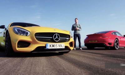Mercedes-AMG GT S vs Porsche 911 Turbo