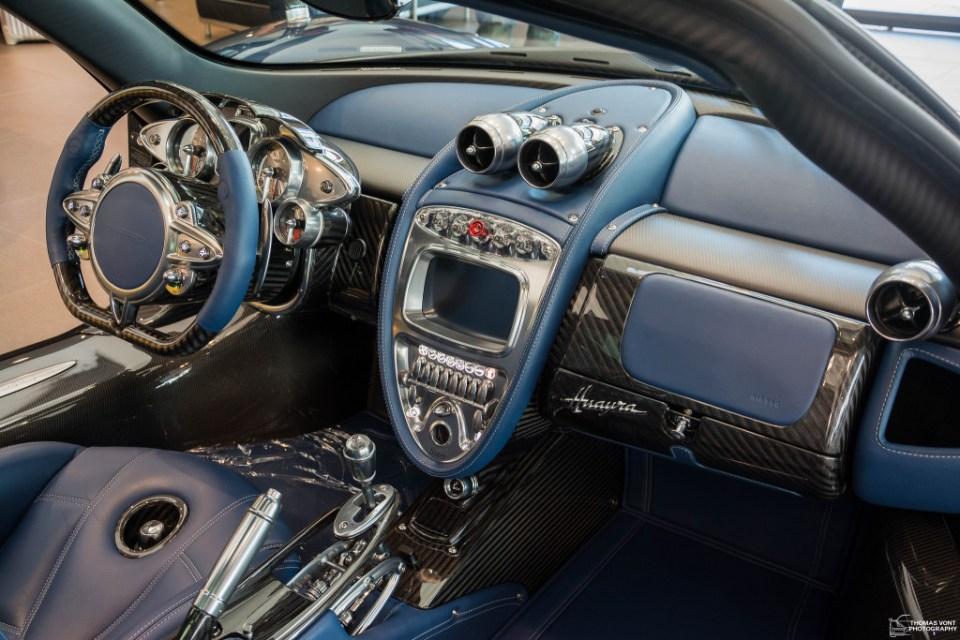 Pagani Huayra 730S Edition interior 1