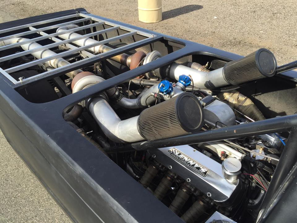 Twin Turbo Chevy S10 WTF Truck 2