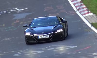 Acura NSX at the Nurburgring