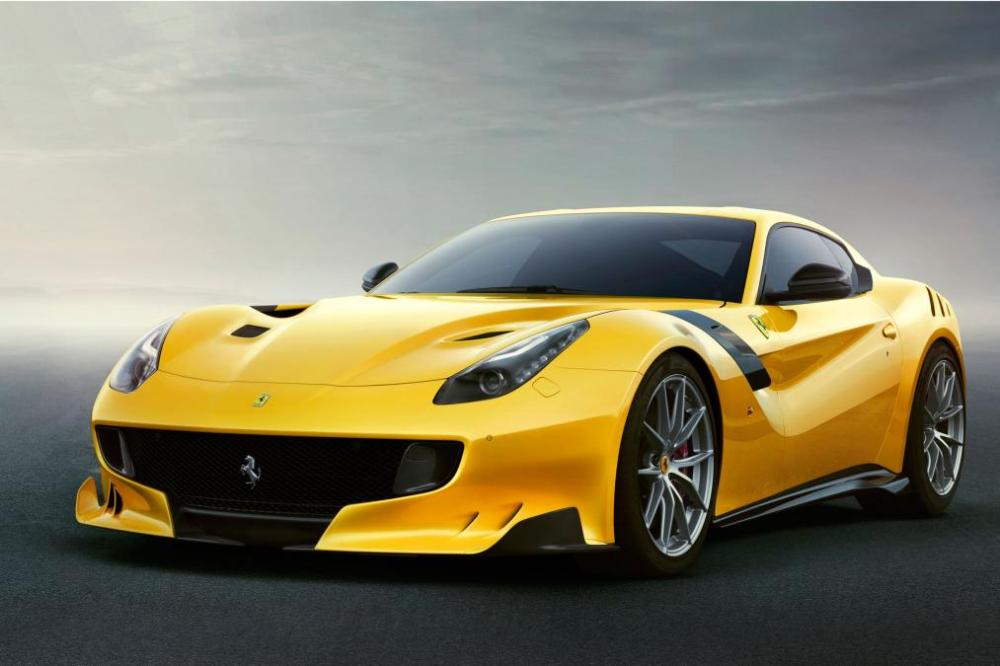 Ferrari F12 TDF front angle