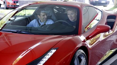 Gordon Ramsay at Ferrari -1