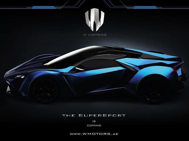 Fenyr Supersport by W Motors Dubai
