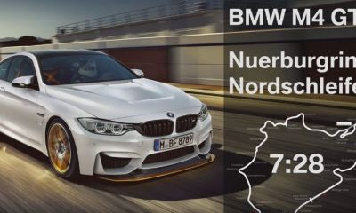 BMW M4 GTS Nurburgring lap time