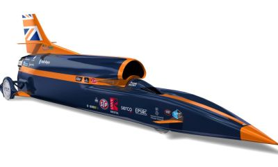 1000 mph Bloodhound SSC World Land Speed Record Car