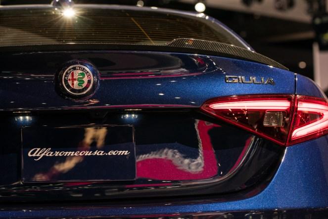 Alfa Romeo Giulia- 2016 Detroit Auto Show-9
