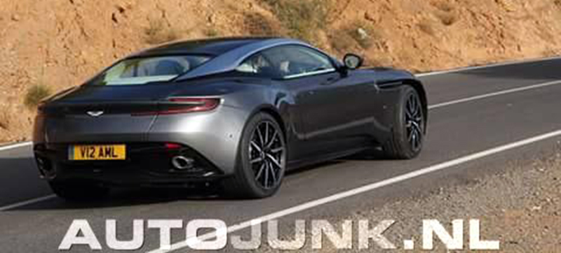Aston Martin DB11 caught undisguised in Spain