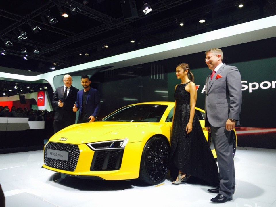 All-new Audi R8 Launched in India at 2016 Delhi Auto Expo