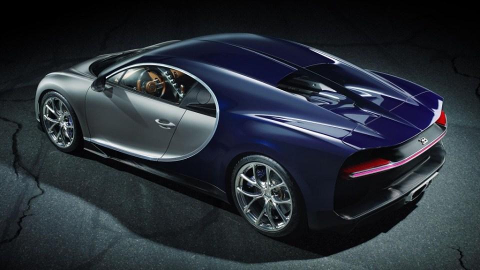 Bugatti Chiron Official Image- 2016 Geneva Motor Show-5