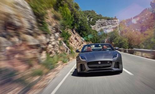Jaguar F-Type SVR Convertible-2016 Geneva Motor Show-9