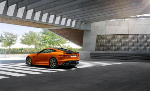 Jaguar F-Type SVR Coupe-2016 Geneva Motor Show-17