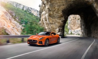 Jaguar F-Type SVR Coupe-2016 Geneva Motor Show-4
