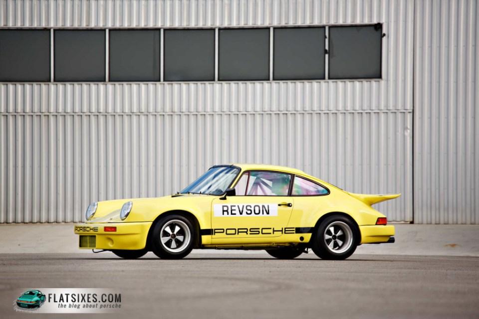 Jerry Seinfeld's Porsche Collection-1974 Porsche 911 Carrera 3.0 IROC RSR