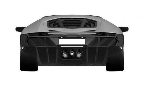 Lamborghini Centenario LP770-4 Patent Drawings-2016 Geneva Motor Show-4