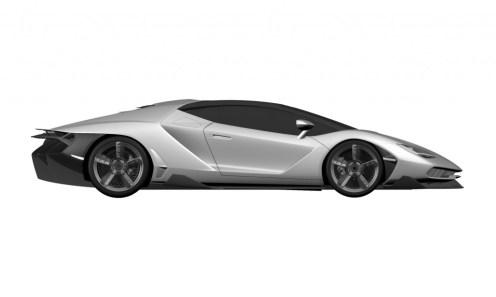 Lamborghini Centenario LP770-4 Patent Drawings-2016 Geneva Motor Show-6