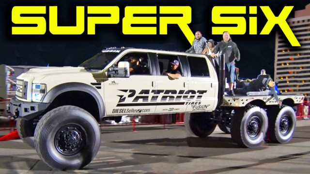 Super Six Patriot Ford Monster Truck 6x6x6