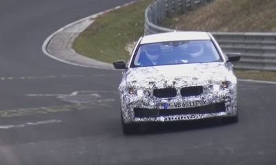 2018 BMW M5 Prototype Testing at Nurburgring