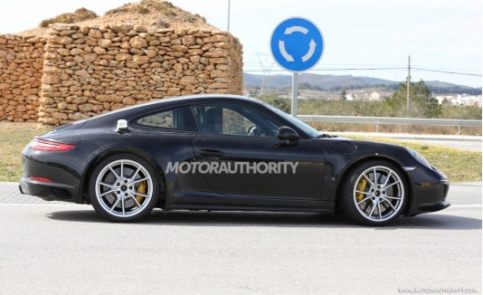 2019 Porsche 911 Prototype Caught Testing-2