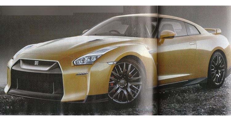 Nissan GT-R Facelift Rendering Japan-1