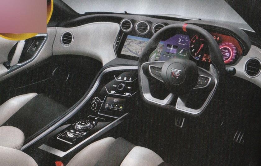 Nissan GT-R Facelift Rendering Japan-2