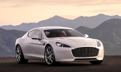 2016 Aston Martin Rapide launched in India