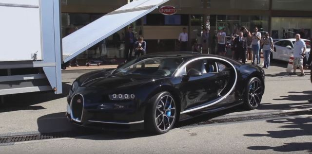 Bugatti Chiron arrives in Monaco-2