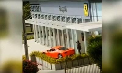 Ferrari crash caught on tape-4