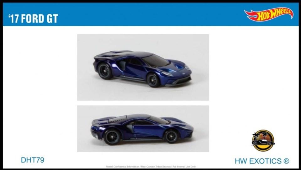 Hot Wheels Ford GT 2017 by Mattel
